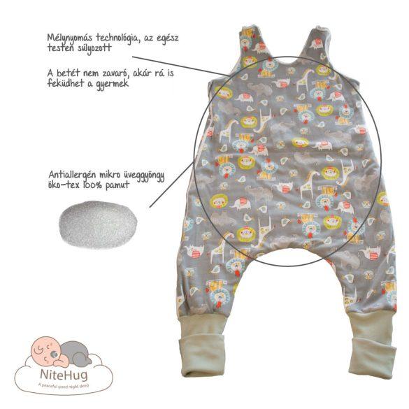 Súlyozott gyerek kamáslis hálózsák - 104-110-es