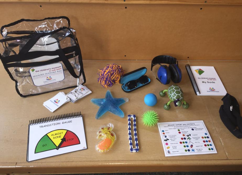 Szenzoros túlélő készlet, avagy a szenzoros táska (sensory bag)